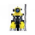 Комплект  оптичен нивелир GeoMax ZAL132  Увеличение 32x, Точност 2.0 mm/km